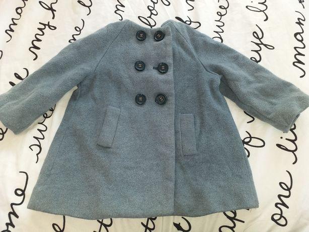 Palton zara baby 6-9luni, 74, lana