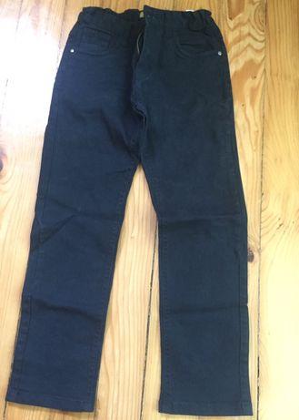 Тъмно син джинсов панталон