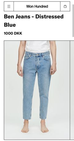 Jeans / blugi barbati Won Hundred 28/30