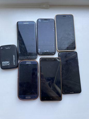 Телефоны  6шт за 20 тыс тенге