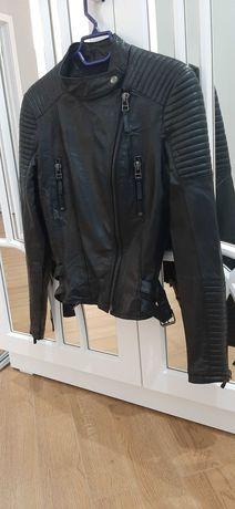 Куртка Zara, натуральная кожа. Размер М. Идеальное состояние. Испания