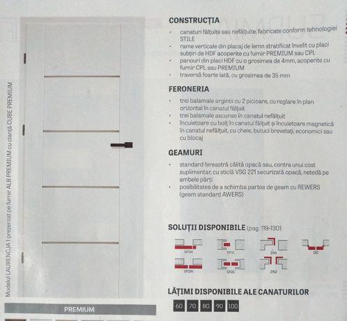 Vand 2 usi Erkado Laurencja premium noi+pervaze