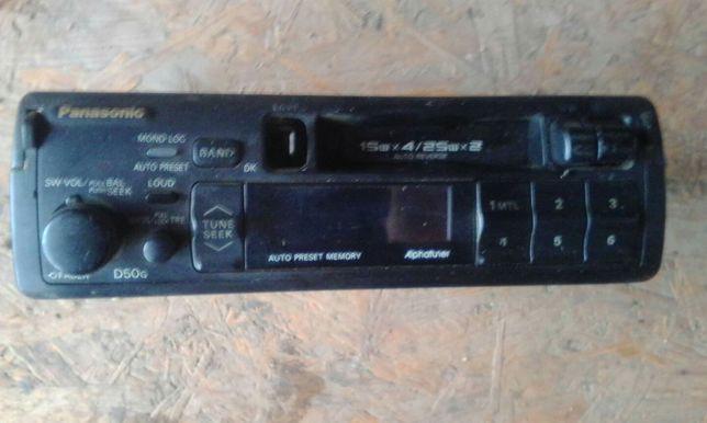 Radio casetofon auto Panasonic