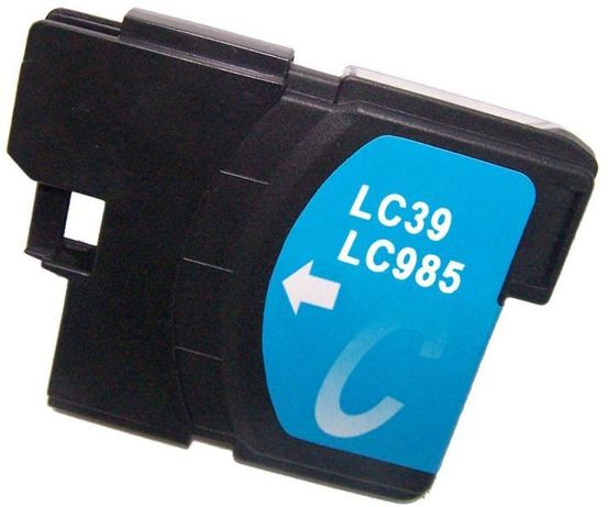 Cartus cerneala compatibil cu Brother LC985 Cyan,LC985C LC39C, LC975C