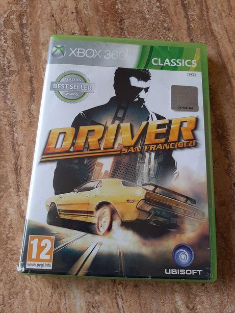 Vand joc Driver San Francisco pentru Xbox 360+Joc Fifa 16 pt Xbox 360