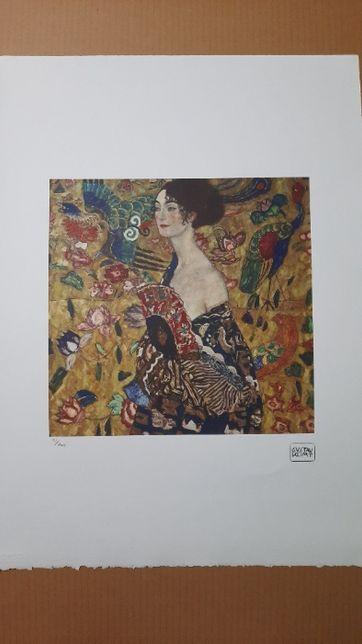 Litofrafie Gustav Klimt