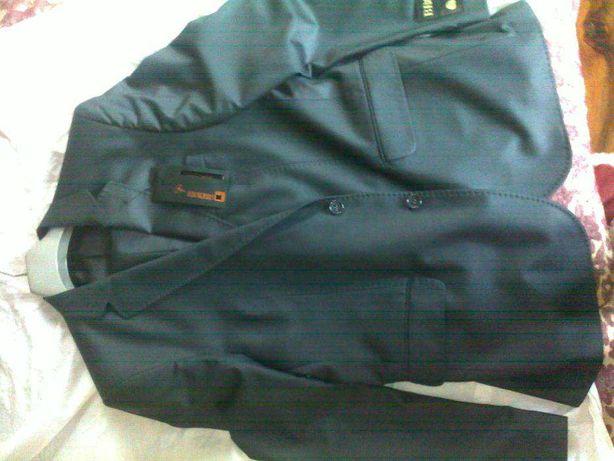 costum negru lana subtire