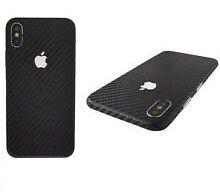 Folie carbon full back cover iPhone X , Xr, Xs , Xs Max Ploiesti - imagine 1