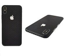 Folie carbon full back cover iPhone X , Xr, Xs , Xs Max