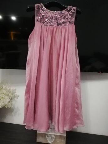 Rochiță roz pudrat