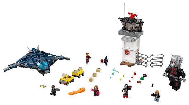 Lego Superhero 76051 Super Hero Airport Battle