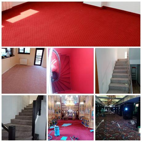 Montaj mocheta scări sau orice fel de încăperi disponibilitate rapida