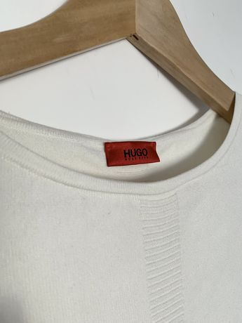 Bluza alba Hugo Boss - S