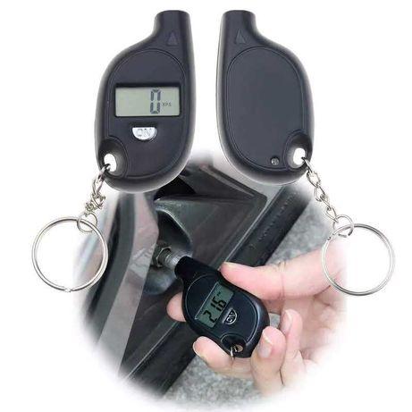 Електронен уред с батерия за измерване на налягането в гумите