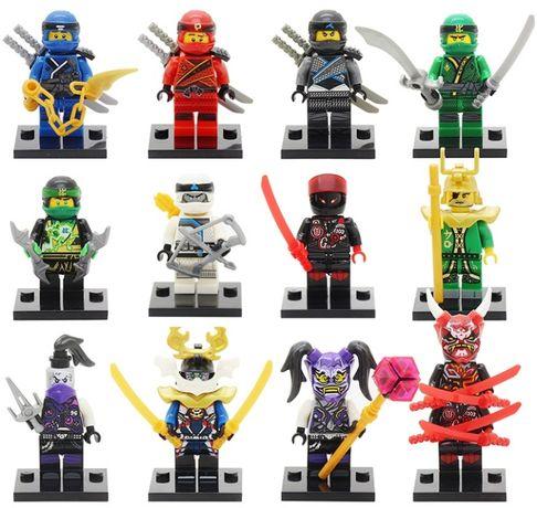 Set 12 Minifigurine tip Lego Ninjago Sezon 8 Sons of Garmadon cu masti