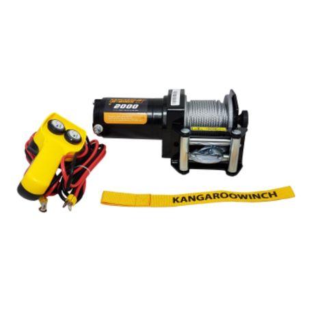 Troliu pentru ATV K 2000 E KangarooWinch/Powerwinch - NOU