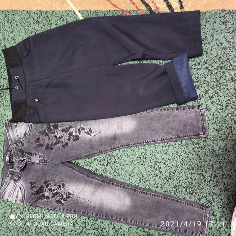 Джинсы и брюки для девочки