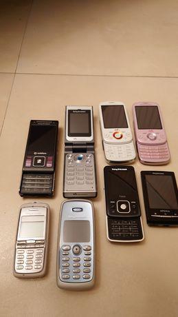 Sony Ericsson/Сони Ериксон Т300, Т303, Т600, Xperia, C905, W380i, W20i