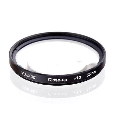 Макро леща / филтър +10 Rise(UK) 52mm 55mm 58mm 62mm 67mm 72mm 77mm