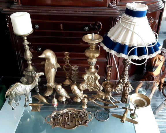 Бронзова фигура , месингова колекция , статуя , статуетка , свещник
