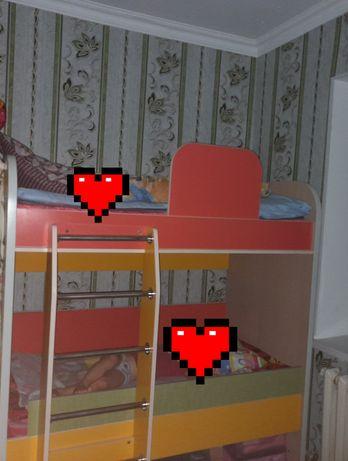 Детский кровать матрастарымен