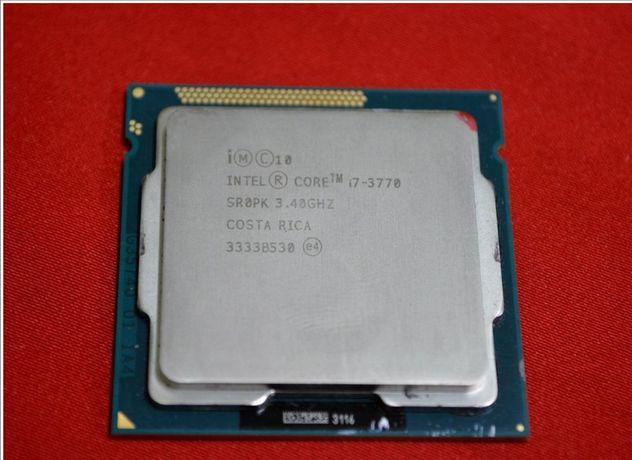 Processor Intel i7-3770 3.4Ghz Socket 1155 eventual mb asus