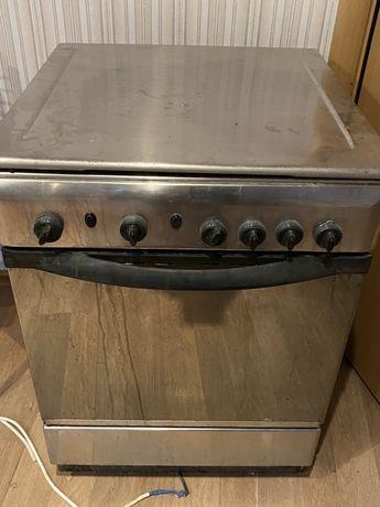 Газовая плита и духовка Indesit