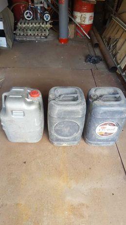 Канистры (бочки) 50л из под солярки + металлический  бензобак
