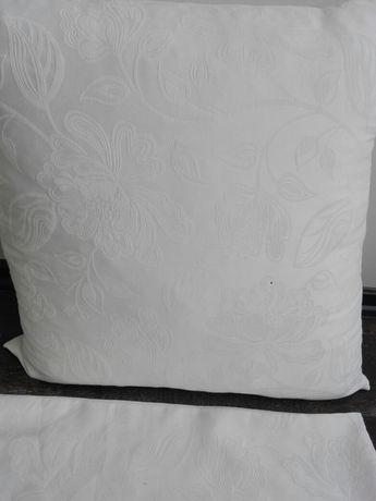 Декоративни калъфи за диван 60/60 бял цвят 4 броя