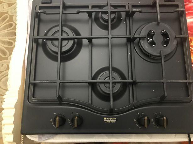Газ плиты, Встраиваемая варочная панель  HOTPOINT-ARISTON