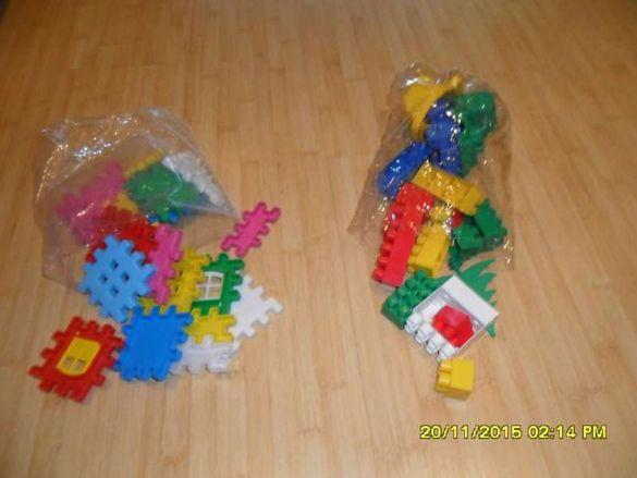 Играчки-конструктори, кола с дистанционно , пъзел мики маус