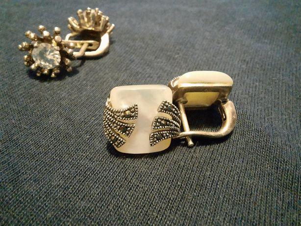 Cercei argint 925