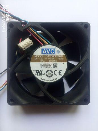 Майнинг вентилятор для видеокарт 80*80*25 мм 12 Вт, 0,8 Ампер