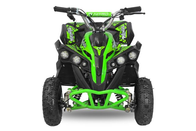 ATV Electric Eco Avenger 1000W 48V cu 3 Trepte de Viteza #Verde