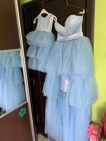 Vând rochii mama - fiica 36, 92 ( 2 ani)