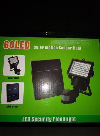 Proiectorul solar si senzor de miscare