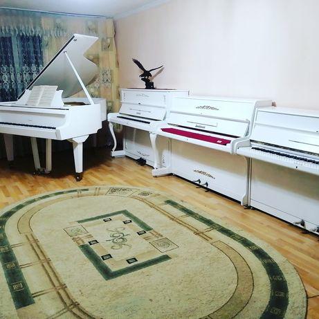 Продам пианино, цимерман, ронешь, геер, цвет белый,