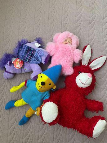 Плюшени играчки всичките за 5 лв