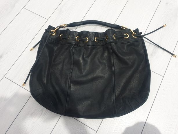 Geanta juicy couture 100%originala piele naturala neagra stil sac