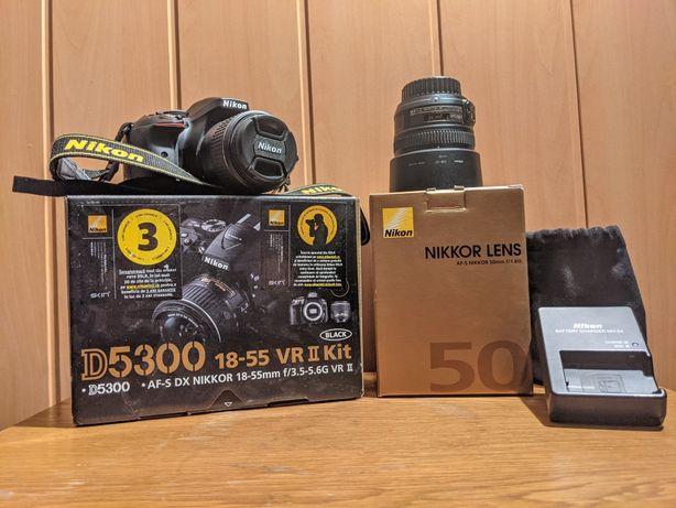 Nikon D5300 + 2 obiective