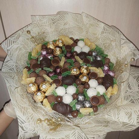Ореховый букет, букеты из сухофруктов,  фруктов
