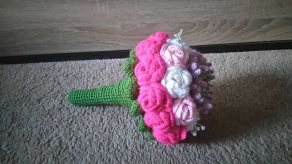 Ръчно изработени букети,саксии и цветя