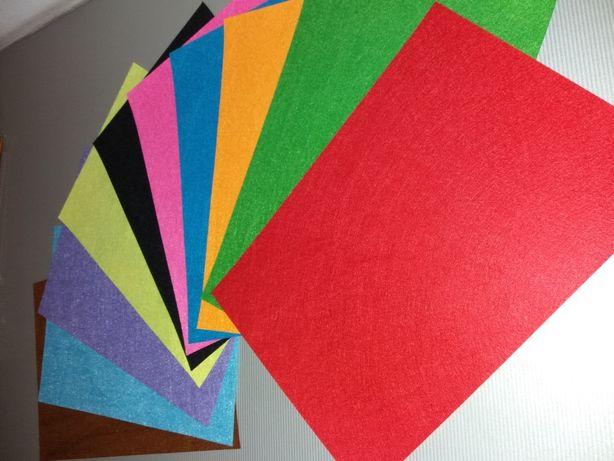 Фетр бумаги для развития творческих способностей детей.