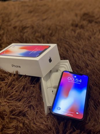 Vând Iphone X, 64GB, Space Grey