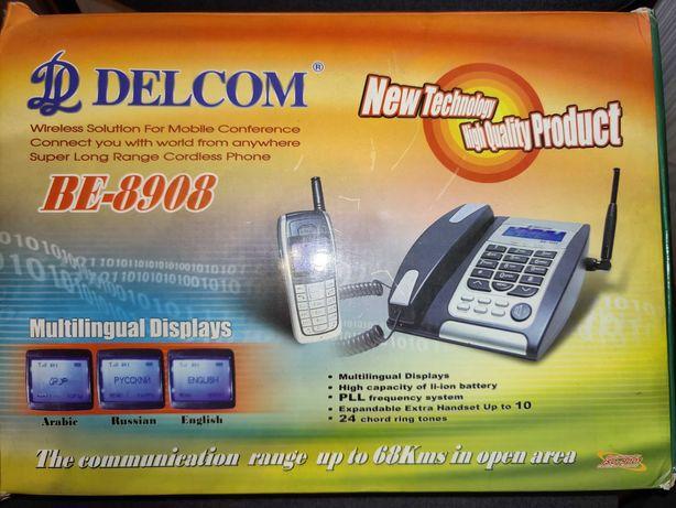 Стационарный/радио телефон DELCOM BE-8908