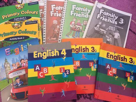 Книжки английского языка для начинающих.
