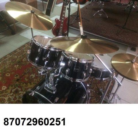 Продам барабаны Mapex Voyager с комплектом тарелок Sabian SBR