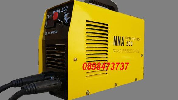 ММА-200 Електрожен с дисплей