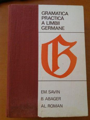 Em. Savin, B. Abager Gramatica practica a limbii germane