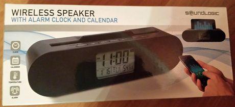 Bluetooth колонка с часовник